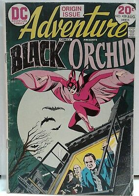 Adventure Comic #428 1st Appearance of  Black Orchid