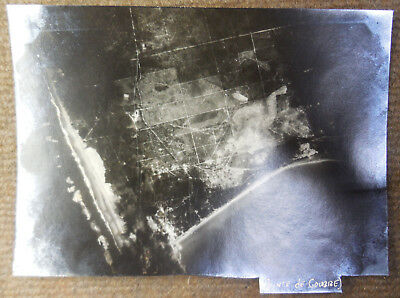 Vintage WW II USAAF 8th Air Force Pointe de Coubre France Bombing B/W Photograph