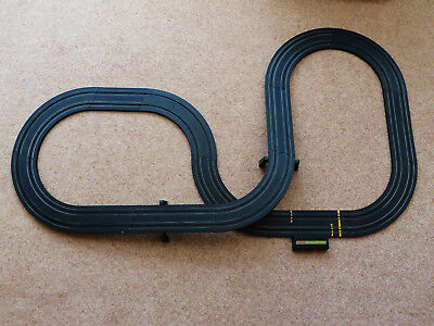 Micro Scalextric TRACK including Flyover  & Power Base