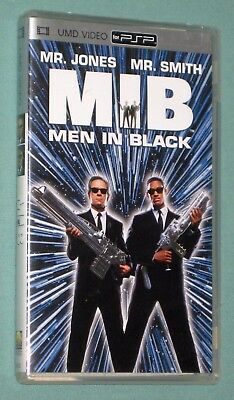 Men In Black PSP console UMD Sci-Fi 1997 MOVIE COMPLETE! Will Smith Eng/Frn/Spn+