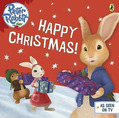 Peter Rabbit Animation: Happy Christmas! by Potter, Beatrix | Board book Book |