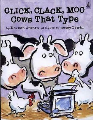 NEW Click, Clack, Moo By Doreen Cronin Paperback Free Shipping
