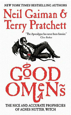 NEW Good Omens By Neil Gaiman Paperback Free Shipping