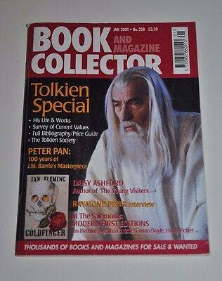 Book and Magazine Collector 238 Jan 2004 - Tolkien Special, Peter Pan, Ashford