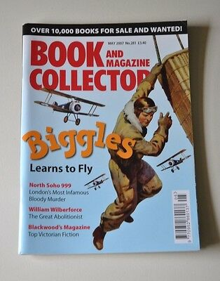 Book / Magazine Collector May 2007 # 281 - Biggles, Blackwoods, Wilberforce
