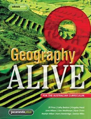 NEW Geography Alive 9 for the Australian Curriculum & eBookPLUS By Jill Price