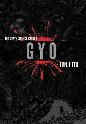 NEW Gyo 2-in-1 Deluxe Edition By Junji Ito Hardcover Free Shipping