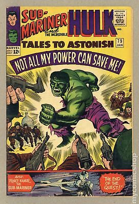 Tales to Astonish (1959-1968 1st Series) #75 VG+ 4.5 LOW GRADE