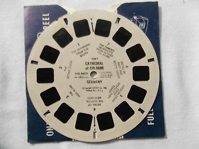 View Master  Reel  1567  Cathedral of Cologne  1958   Rare