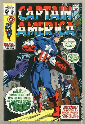 Captain America (1968 1st Series) #124 VG/FN 5.0
