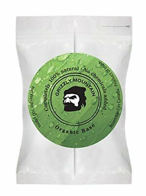 Grizzly Mountain Organic Base Beard Dye Neutralizes Unwanted Color 1g by GMBD