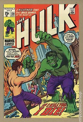 Incredible Hulk (1962-1999 1st Series) #130 FN+ 6.5