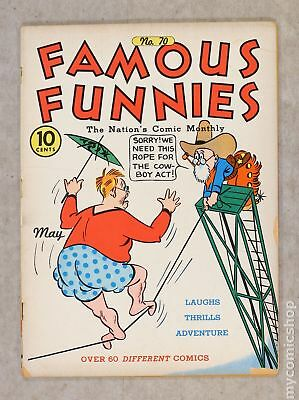 Famous Funnies (1934) #70 GD 2.0