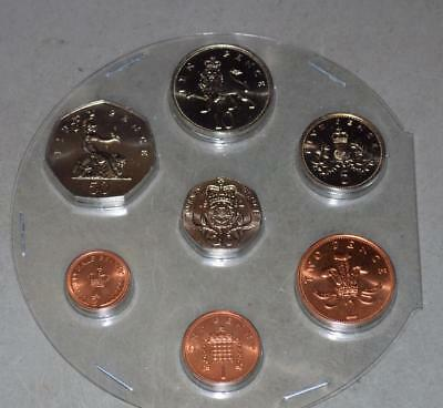 Great Britain 1982 Uncirculated Set - 7 Coins