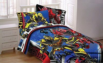Transformers 4 Battle Royal Microfiber Comforter Set Fits Twin or Full Size Beds