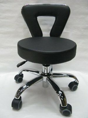 """Adjustable Height SPA Chair Pedicure Stool for Nail Hair Facial Artists 15 3/4"""""""