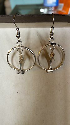 925 silver dophin earrings