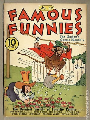 Famous Funnies (1934) #59 GD 2.0