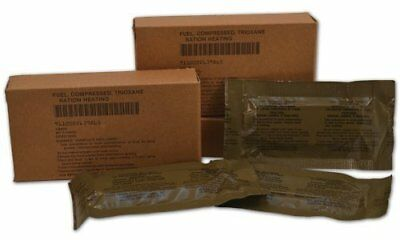 U.S. Military Fire Starter Trioxane Fuel Bars Ideal Camping Situations - 27 Bars