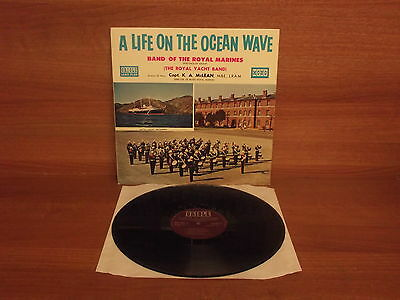 Band Of The Royal Marines : A Life On The Ocean Wave : Capt.K.A.McLean  MG 20047