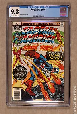 Captain America (1968 1st Series) #216 CGC 9.8 1448926033