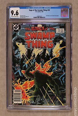 Swamp Thing (1982 2nd Series) #20 CGC 9.6 1448922017