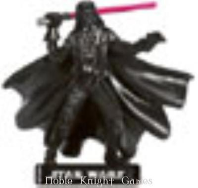 WOTC Star Wars Minis Alliance & Empire Darth Vader - Imperial Commander NM