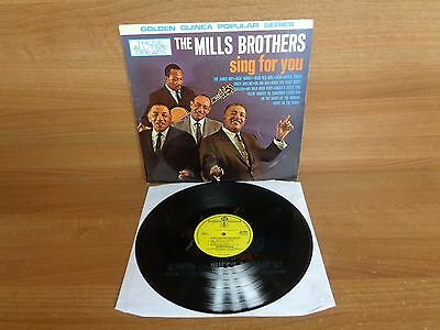 THE MILLS BROTHERS SING FOR YOU : Vinyl Album : Golden Guinea : GGL 0312