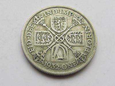 George V - 1932 Florin (Two Shillings) - Good filler/collectable coin