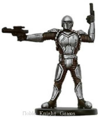 WOTC Star Wars Minis Bounty Hunter Mandalorian Soldier NM