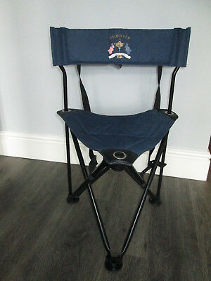 Ryder Cup Valhalla  Portable/fold Up  Golf Chair Blue Vgc