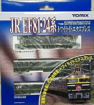 New Tomix N Gauge 92459 EF81 24 System Twilight Express Basic Set From Japan