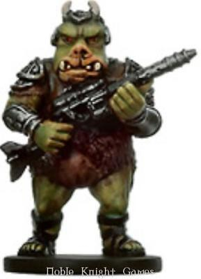 WOTC Star Wars Minis Bounty Hunter Gamorrean Thug NM