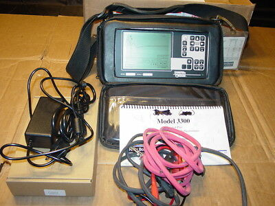 Riser Bond 3300 TDR Cable Fault Locator Reflectometer