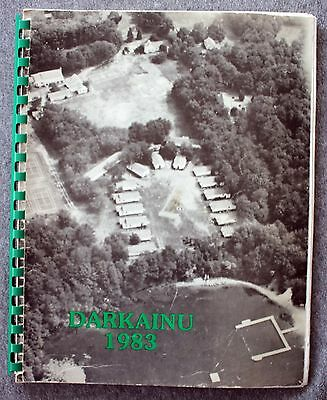 1983 CAMP PEMBROKE Yearbook JEWISH Zionist HANSON Massachusetts JUDAISM Girls