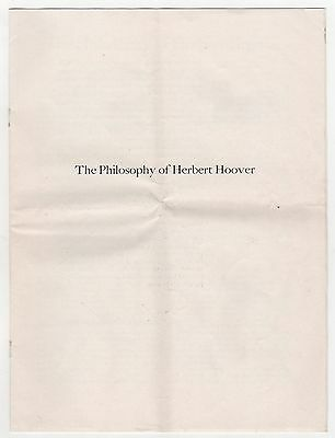 1963 PHILOSOPHY HERBERT HOOVER President POLITICAL Engineer ENGINEERING