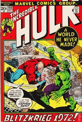 Incredible Hulk (1962-1999 1st Series) #155 FN- 5.5