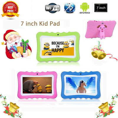 """7"""" Inch Kids Android 4.4.2 Tablet PC Quad Core Wifi Camera For Children UK Stock"""