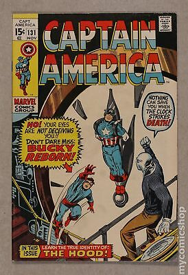 Captain America (1968 1st Series) #131 FN- 5.5