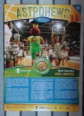 Programs Asvel France - Azovmash Mariupol, Ukraine