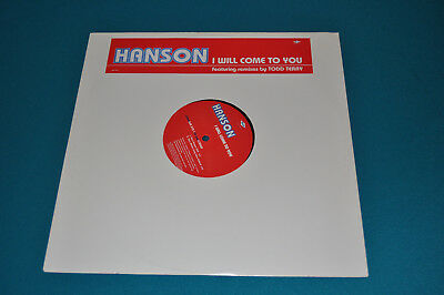 "RARE Hanson I Will Come To You 12"" Vinyl UK Promo Record!"