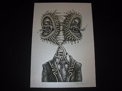"EMEK HANDBILL LOVING EYE 7 1//4  /"" X 6 /"" SILK SCREEN"