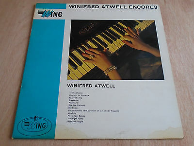 Winifred Atwell: Encores LP (Wing) 196?