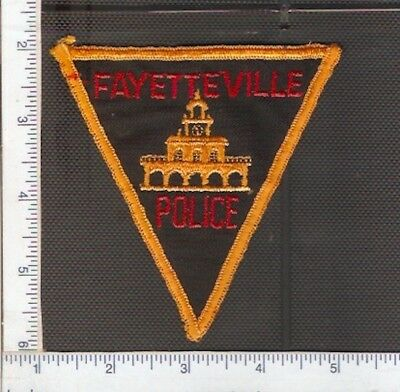 for sale1 vintage police shoulder patch from Fayetteville.