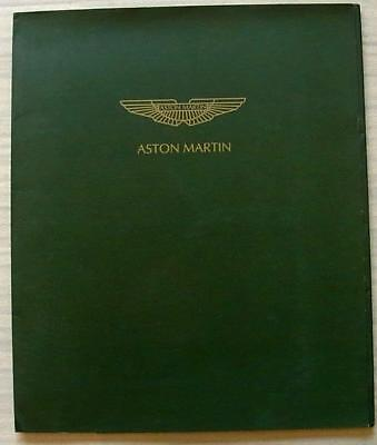 ASTON MARTIN DB7 VANTAGE Press Media Pack 4 June 1999 Photos