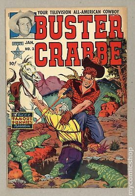 Buster Crabbe (1951 Famous Funnies) #2 VG 4.0