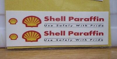 Shell Paraffin Waterslide lot A