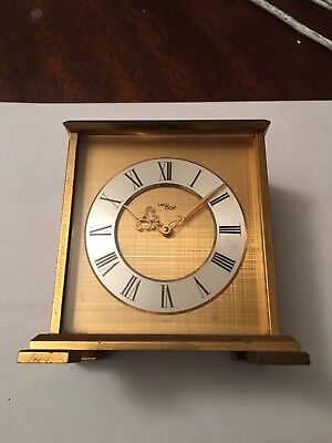 Imhof 8 Day Clock Carriage Style No Reserve