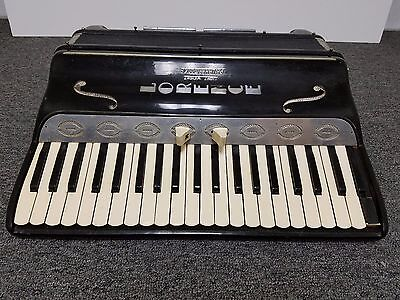 Vintage Philharmonic Full Size 41/120 Piano Accordion For Repair