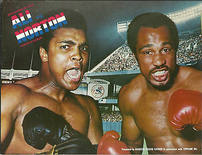1976 MUHAMMAD ALI vs KEN NORTON [III] WORLD TITLE PROGRAMME